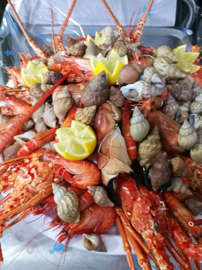 Plateau de fruits de mer complet
